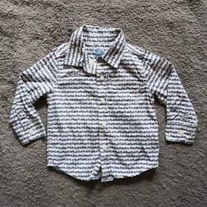 18 - 24 mo babyGap Bicycle Print Button Down Shirt